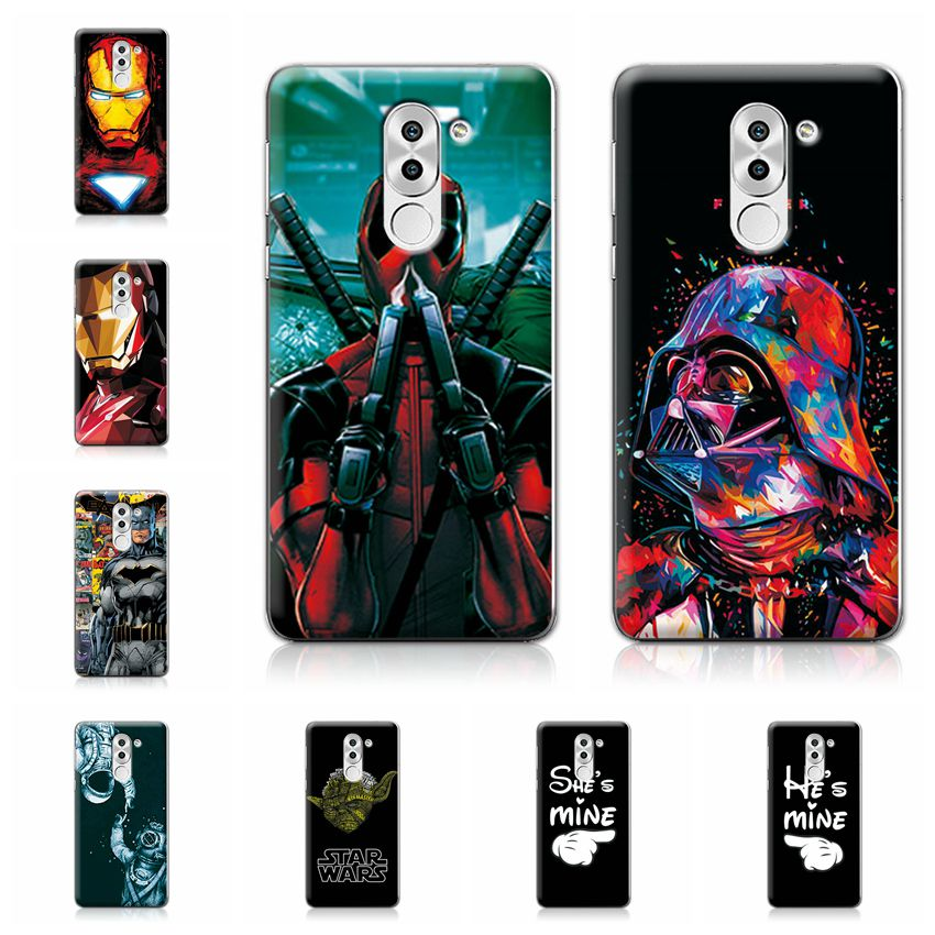 Charming Deadpool Spiderman Case Coque For Huawei Honor 6X
