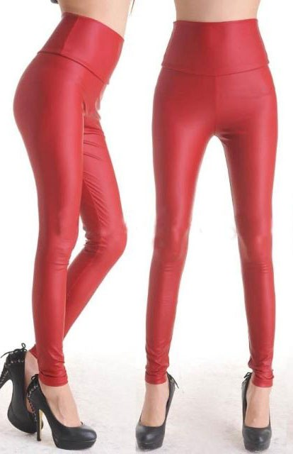 Fashion-Red-Faux-Leather-Leggings-LC7748-3-2