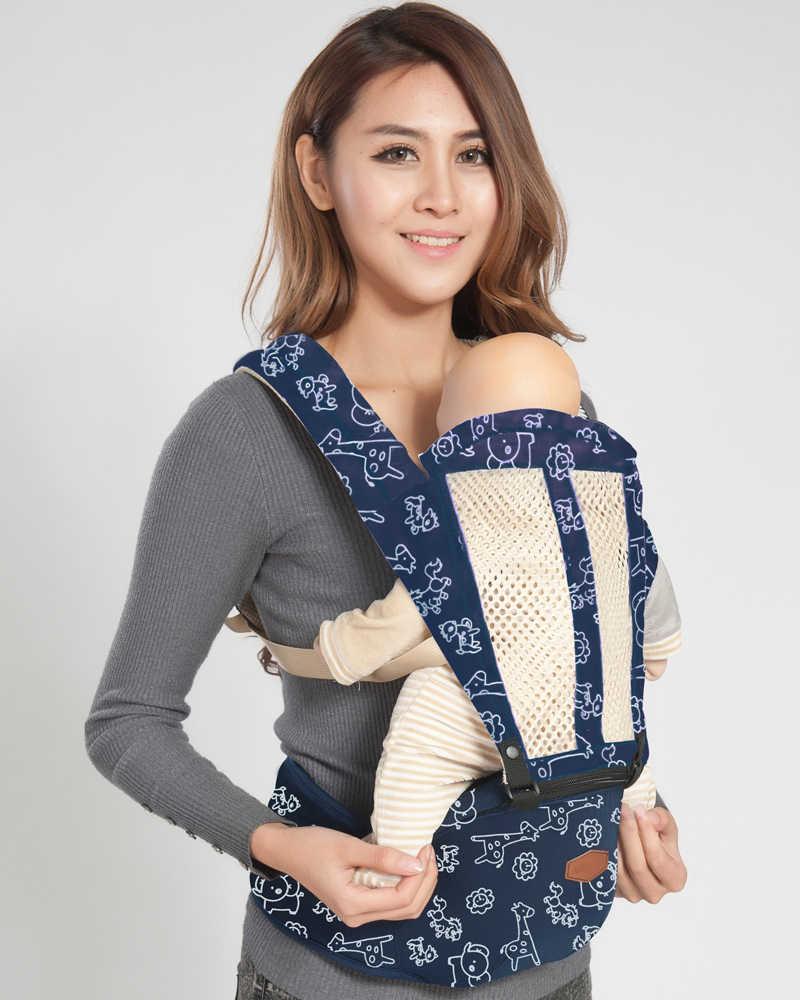 Dla dzieci Hipseat kangur plecak Mochila Portabebe ergonomiczne nosidełko dla dzieci 360 fotelik dziecięcy chusta do noszenia dzieci oddychające