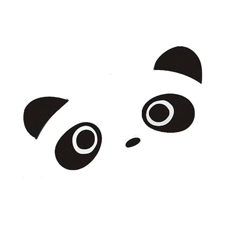 9*4 см 4 шт. наклейки на автомобиль с пандой креативные наклейки на дверные ручки автомобиля с пандой черный серебристый CT 691 sticker sheet sticker wallstickers ipod   АлиЭкспресс
