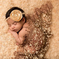 Embroidery lace newborn photo photography props handmade lace scarf wraps baby photo props accessories