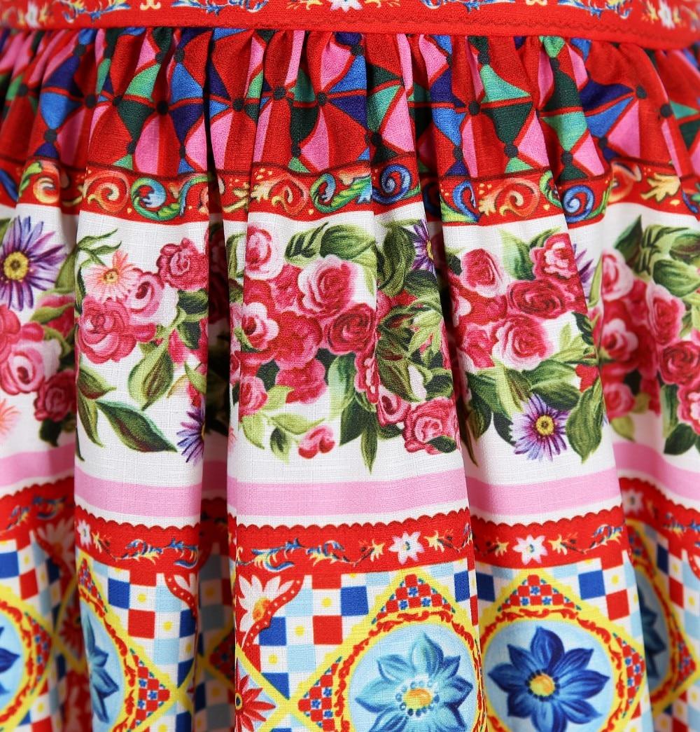 W. l. monzón Niñas verano 2018 marca princesa traje para niños ...