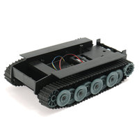 DIY Smart Robot Auto Smart Duitsland Tank Track Rubber Chassis voor Arduino