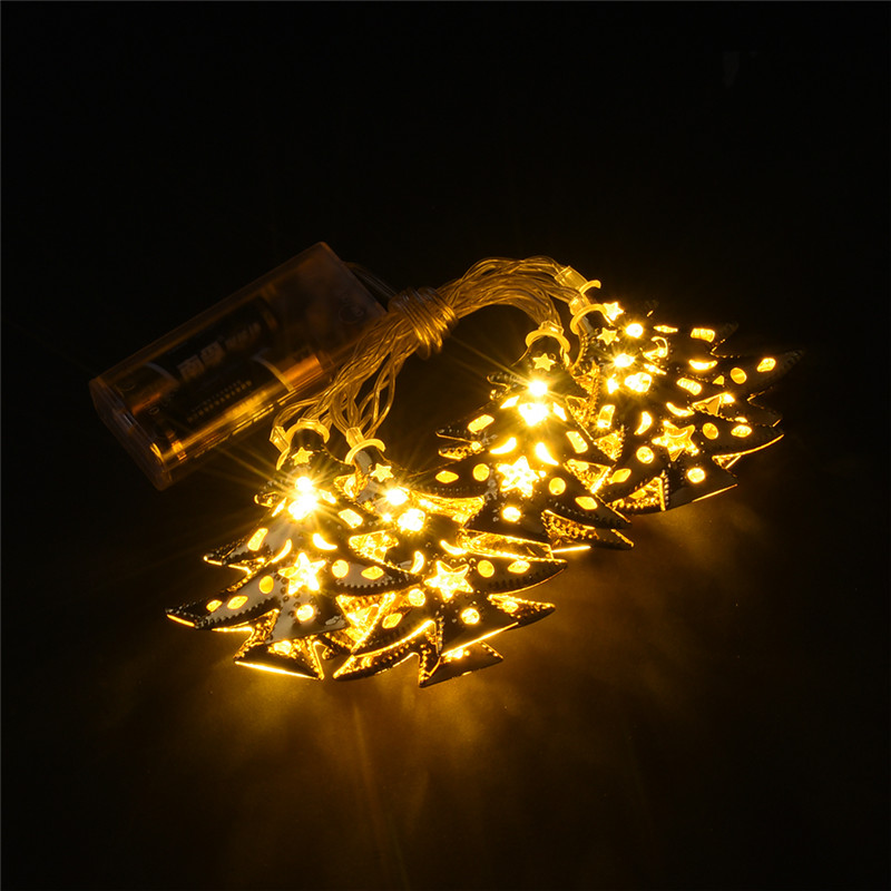 Accents White Led String Lights Battery Operated : Battery Operated Warm White LED Fairy Lights 10 20 30 Christmas tree String Decor Light for ...