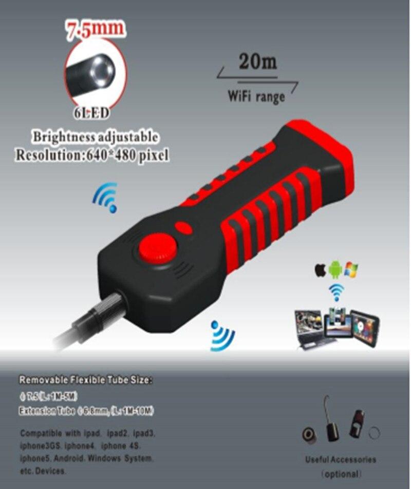 8,5MM 2MP HD WIFI kapesní endoskop