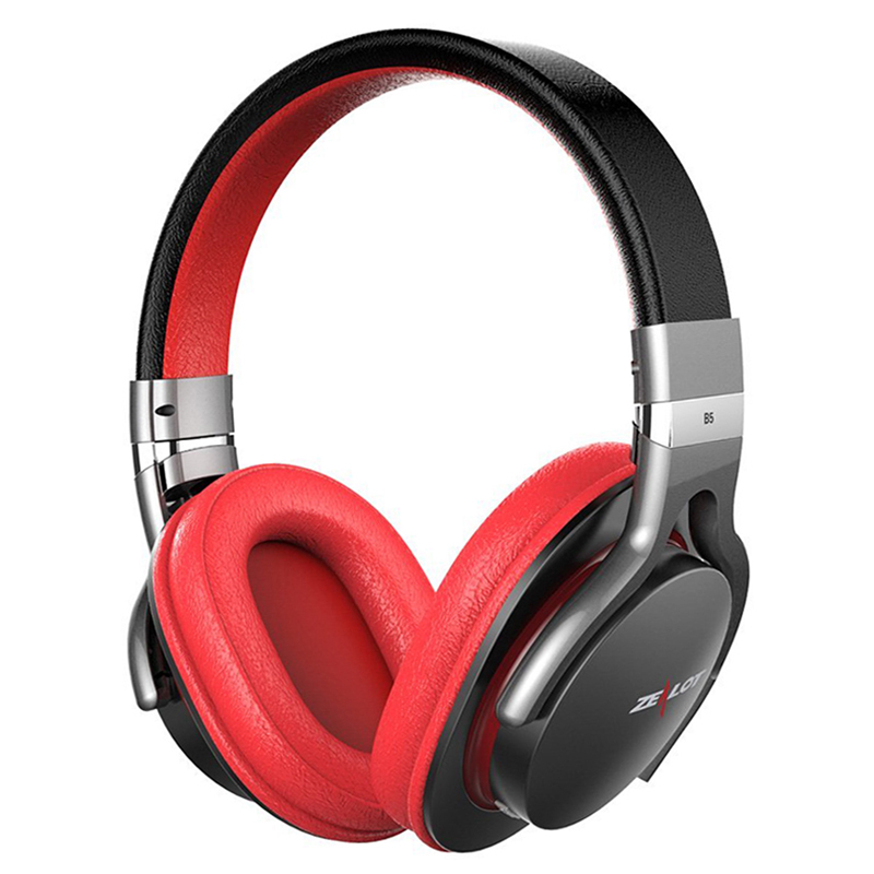 ZEALOT B5 Wireless Bluetooth 4.0 Headphone Over Ear Stereo Headset With Mic Micro-SD Card Play audifonos for phone xiaomi zealot b570 hifi stereo bluetooth headphone wireless headset with microphone fm radio micro sd card play