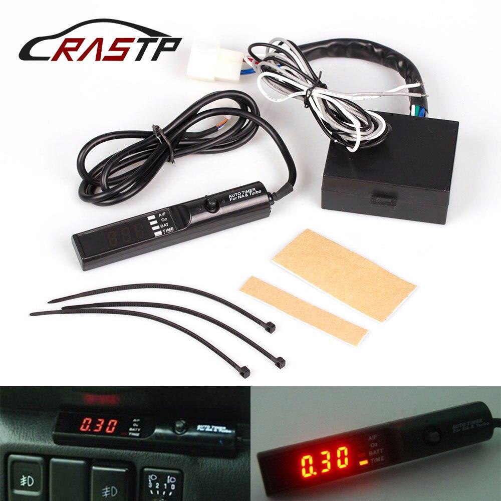 RASTP-12V Turbo timer per Universal Car Auto con la Scatola Originale (rosso/blu/bianco HA CONDOTTO LA luce) con il Marchio RS-BOV012