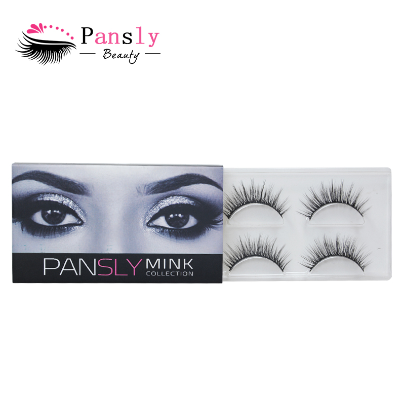 10fc2b1875c Pansly Rzesy 3D Mink Lashes Luxury Hand Made Natural Volume Cruelty ...