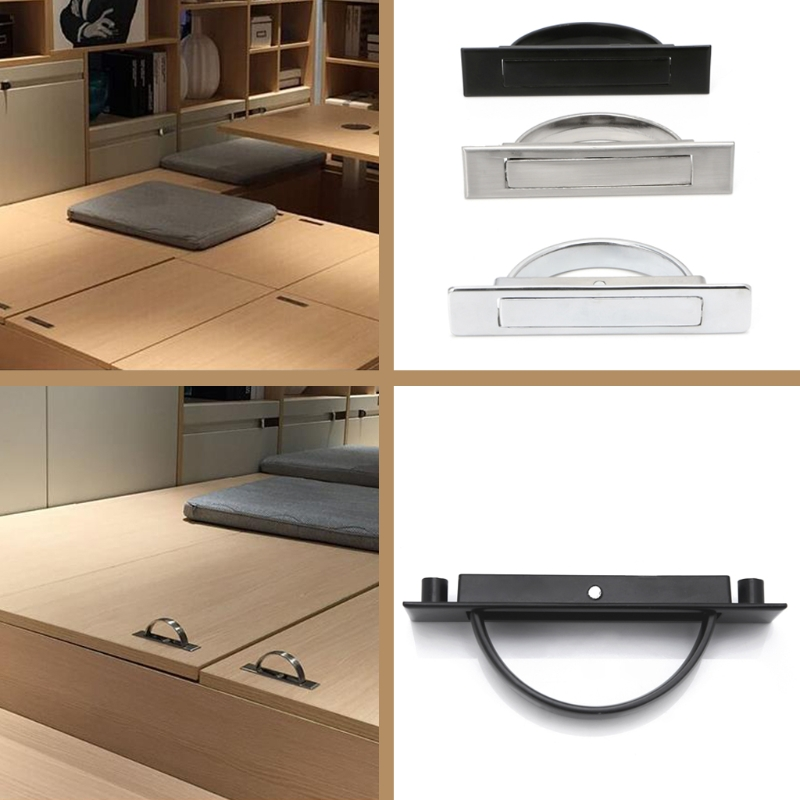 Hidden Door Handle Zinc Alloy Recessed Flush Pull Cover Floor Cabinet  Furniture L15 In Cabinet Pulls From Home Improvement On Aliexpress.com |  Alibaba Group