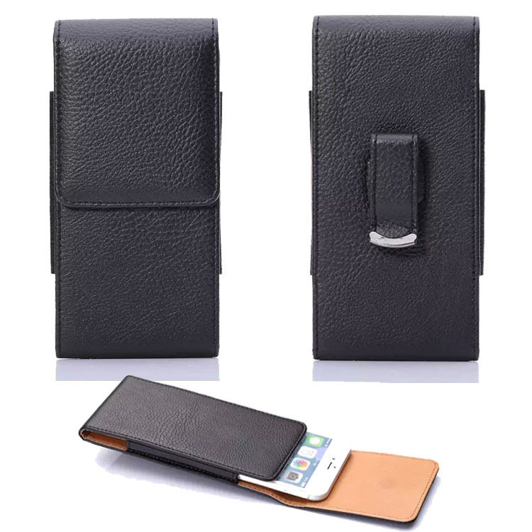 Universal PU Leather Pouch Hip Waist Wallet Mobile Phone Bag For iPhone Outdoor Belt Bag For Galaxy J3 J5 J7 A3 A5 2017 S8