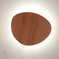 Simple Modern Creative Designer 3 Colors 3D DIY Iron Led Wall Lamp For Corridor Bedroom Living