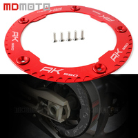 Black Gold Titanium Red CNC Aluminum Motorcycles Accessories Transmission Belt Pulley Cover For KYMCO AK550 AK