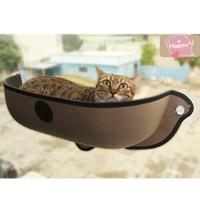 Removable pet Cat Window Bed Mounted dog cat hommock Sunbathing Cat Window dog Cat Lounger Perch Cushion Hanging Shelf