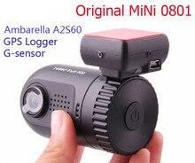 El Envío Gratuito! Original Mini 0801 Ambarella A2S60 Full HD 1080 P GPS Del Coche DVR Grabador de Cámara Dash Cam
