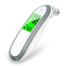 Ear and Forehead Thermometer Digital Medical Infrared For Baby Children Adults Fahrenheit Celsius Converti