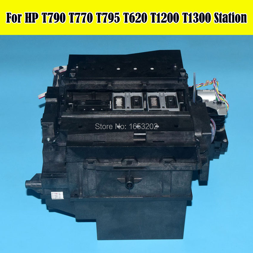 1 PC Original CH538-67040 Service Station Assembly For HP Designjet T620 T770 T790 T795 T1300 Printer 90% New new arrival g lp standard electric guitar one piece neck factory price mahogany body in sunburst 150208
