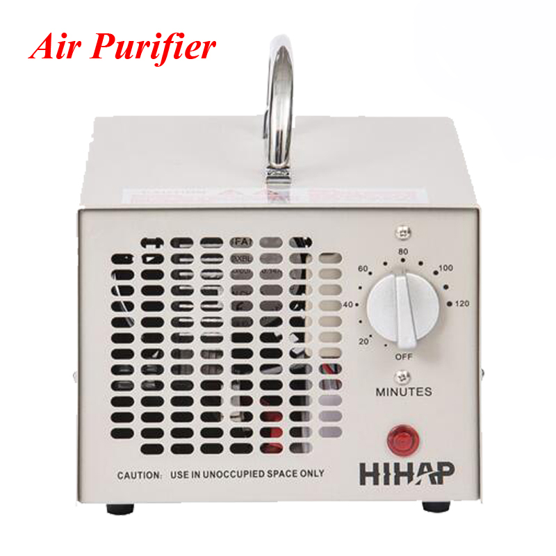 Portable Ozone Generator Air Purifier Air Cleaner Oxygen Portable Ionizer HE-150 oxygen regulator cga540 used on medical ozone generator