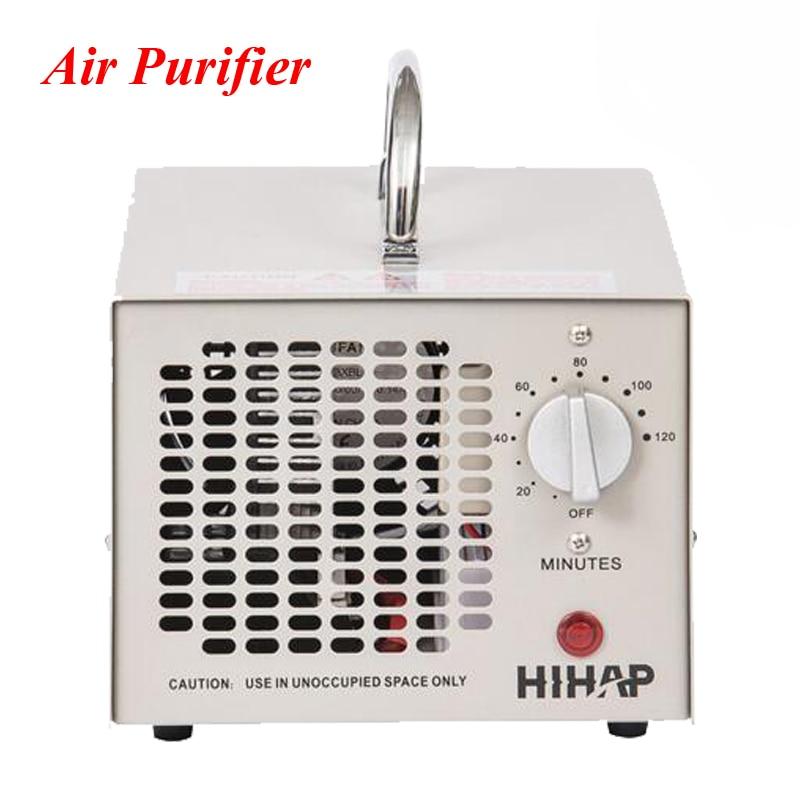 Portable Ozone Generator Air Purifier Air Cleaner Oxygen Portable Ionizer HE-150 ozone generator parts oxygen regulator model cga540 oxygen cylinder regulator