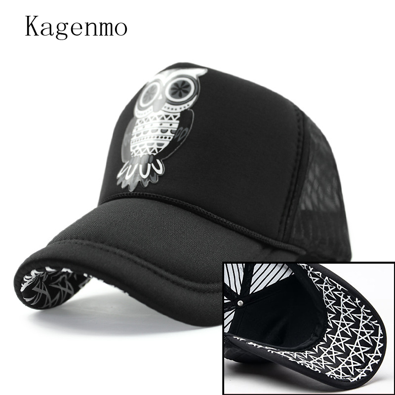 Kagenmo nueva marca original de la historieta del oso sombrero camión moda hip  hop Gorras de béisbol ocio barato feminino f3098d6f3b7