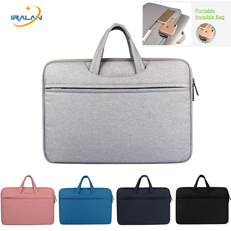 цена на Laptop portable Bag Sleeve Notebook Case for Dell HP Asus Lenovo Macbook 11 12 13 14 15 15.6 inch Soft Cover for Retina Pro 13.3