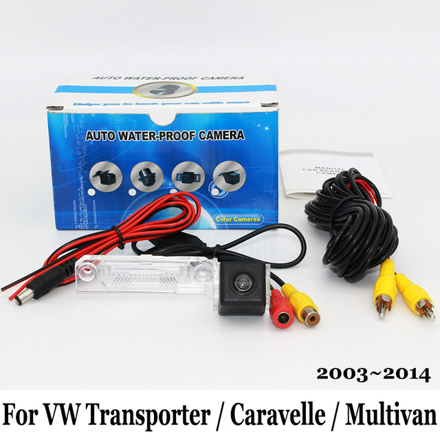 For Volkswagen VW Transporter T5 / Caravelle / Multivan 2003~2014 / RCA Wired Or Wireless / HD CCD Night Vision Rear View Camera