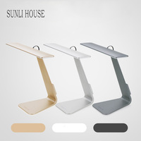 SUNLI HOUSE Fold Desk Lamp Ultrathin Mac Style 3 Mode Dimming Touch Switch Reading Light Eye