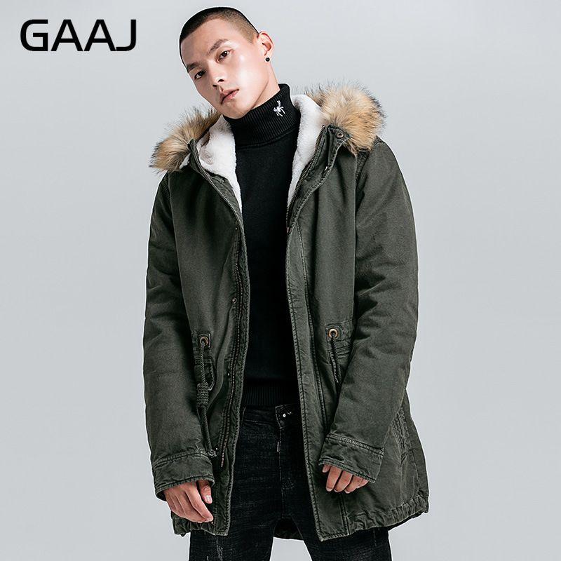 GAAJ ใหม่ผู้ชายหนาขนแกะผ้าฝ้าย 100% หลวมพอดีฤดูหนาว   40'C อุ่นทหาร Amry Navy Denim กางเกงยีนส์ HPDJY #-ใน เสื้อกันลม จาก เสื้อผ้าผู้ชาย บน   2