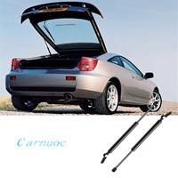 Carnuoc 2pcs rear tailgate door support bar for Toyota Celica 2000 2006 hatchback spring lift support shock absorber