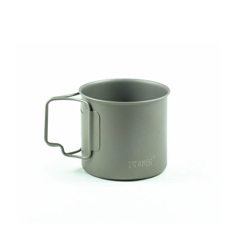 Caliente ultraligero titanium titanium taza acampar al aire libre taza portable