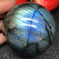 700 720gNatural Labradorite Crystal Sphere Ball Madagascar