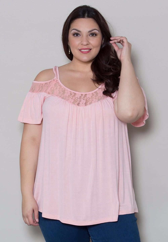 HTB1EA1.KFXXXXXUXXXXxh4dFXXX0 - Off Shoulder Summer Tops Short Sleeve Lace Patchwork Loose