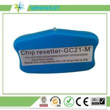 Réinitialisateur de puce de cartouche, Compatible avec GC21, pour imprimante Ricoh GX2500 GX3000 GX3050 GX5050 GX7000