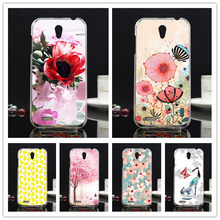 For Lenovo A859 A 859 Phone Case, DIY Painted Colored Back Cover case for Lenovo A859 A 859 Painting 10 Styles Phone Case Cover(China)