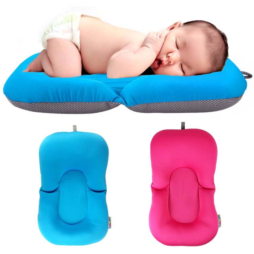 100% QualitäT Baby Dusche Tragbare Air Kissen Bett Babys Infant Baby Bad Pad Non-slip Badewanne Matte Neugeborenen Sicherheit Sicherheit Bad Sitz Unterstützung Bad & Dusche Produkt