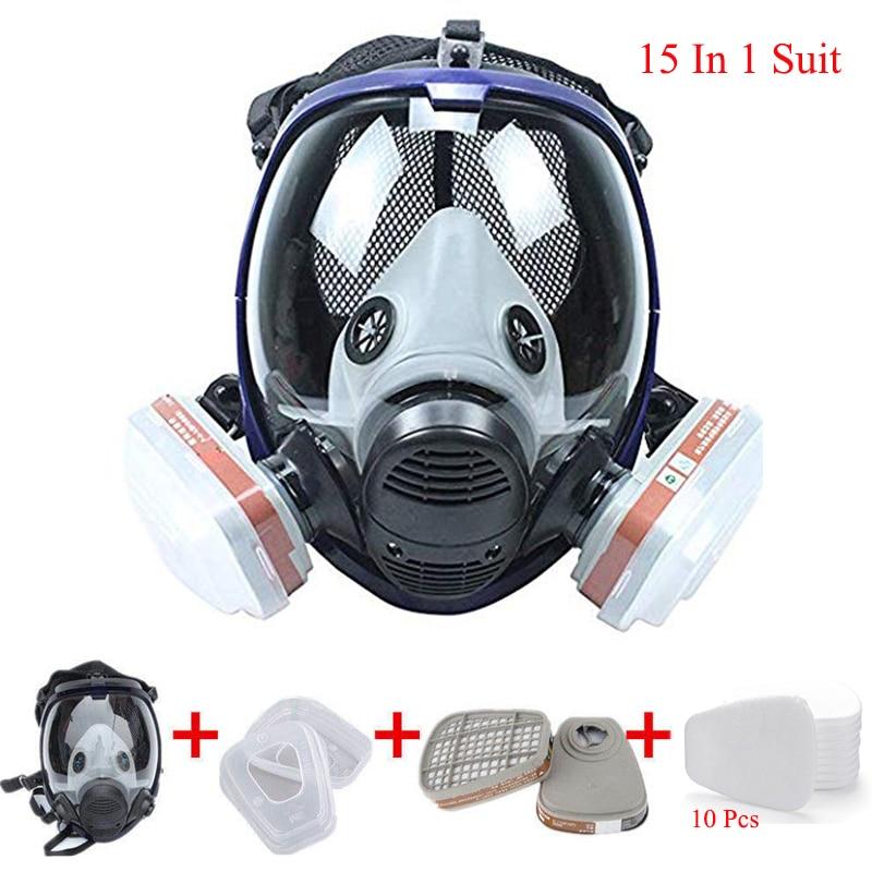 full respirator mask