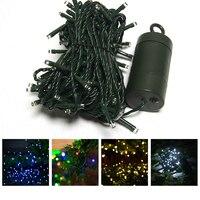 40 M 300 נוריות שמש מופעל פיית מחרוזת אור 8 מצבי תאורה עמיד למים מנורת מסיבת חג פסטיבל חג מולד ליל כל הקדושים P22
