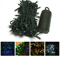 40M 300LEDs Solar Powered Waterproof Fairy String Light 8 Lighting Modes Lamp Holiday For Halloween Christmas