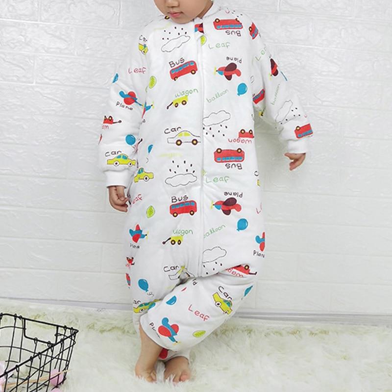 Baby Sleeping Bag Carriage Sack For Newborn Baby Animal Pattern Children Bed Play Split Leg Winter Anti Tipi Sleepsacks Warm