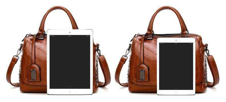 Nova chegada sacos de couro genuíno das mulheres do vintage travesseiro bolsa de couro vaca senhoras sólida casual bolsa feminina c1038