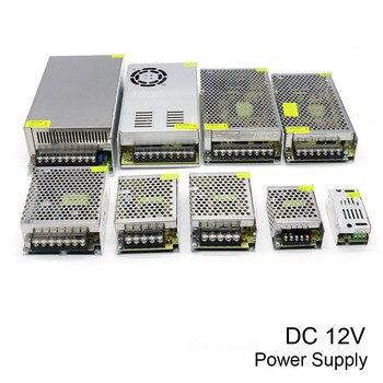 Schakelende Voeding DC 12 V 10A 15A 20A 30A 40A 50A 60A 100 W 120 W 150 W 200 W 240 W 350 W 500 W 600 W 720 W 800 W 1000 W voor led verlichting
