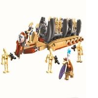 BELA 10374 Star Wars 7 Battle Droid Troop Carrier 565Pcs Building Block Educational Construction Assemble Toys
