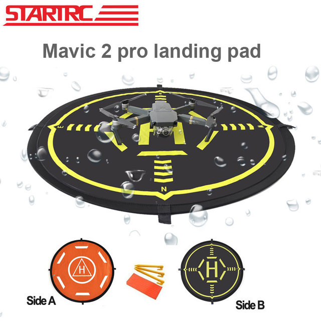 STARTRC DJI mavic 2 Pro Luminous Function Parking Aporn Foldable DJI Mavic 2 pro Landing Pad For DJI Mavic 2 Zoom Drone