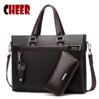 New Handbag Men Shoulder Official Business Bag Laptop Briefcase Business Men S Messenger Casual Travel Bag