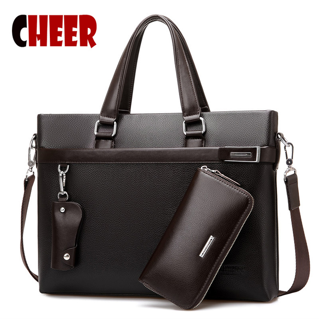 Fashion Business Briefcase Handbags Men S Casual Handbag Laptop Bag Crossbody Shoulder Bags High Capacity Messenger Travel