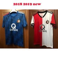 644e868e13e8f Top quality 2018 19 Feyenoord home shirts 18 2019 Feyenoord new man away  blue full kit shirt Hunting jacket free shipping XXL