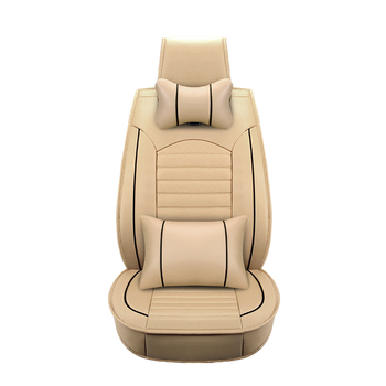 ( Front + Rear )Universal Luxury Leather car seat cover For benz mercedes w110 w114 w115 w123 t123 w124 t124 w210 c e class w164