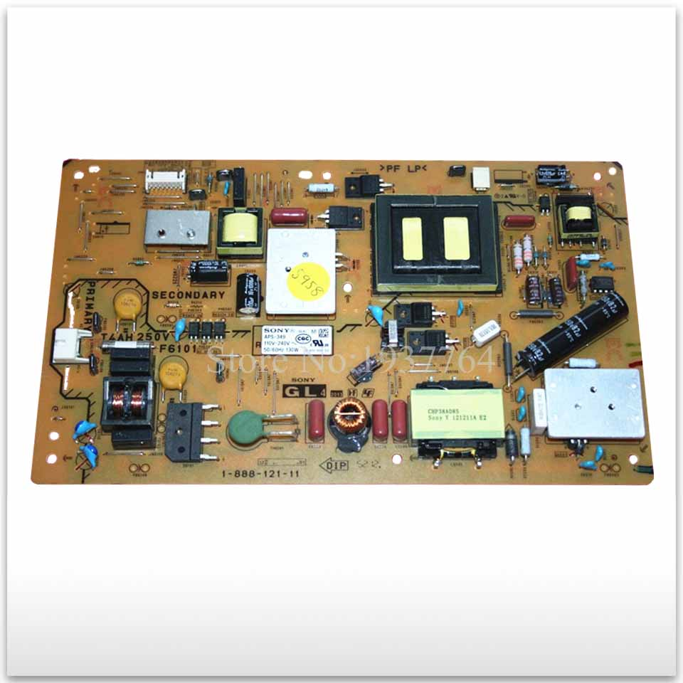 Original power supply board KLV-40R470A 1-888-121-11 APS-349 used  board good working original used for klv 32bx350 aps 317 1 885 885 11 1 733 302 11 power supply board