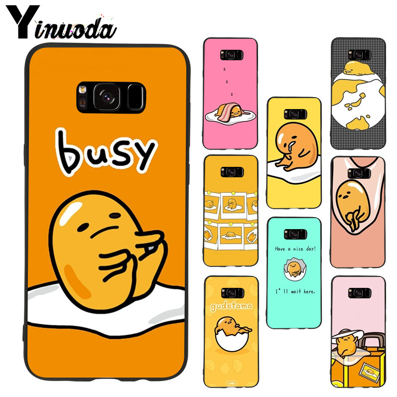 Yinuoda gudetama LAZY EGGS Colorful Cute Phone Accessories Case for samsung  galaxy s8plus s9plus s7 s6 9856e8aa4d3c