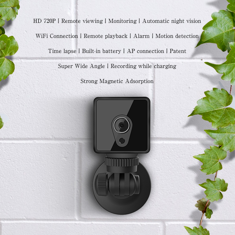Image 3 - S1 Mini Home Security IP Camera Wi Fi Wireless Mini Network Camera Surveillance Wifi 720P Night Vision Camera Baby Monitor-in Surveillance Cameras from Security & Protection