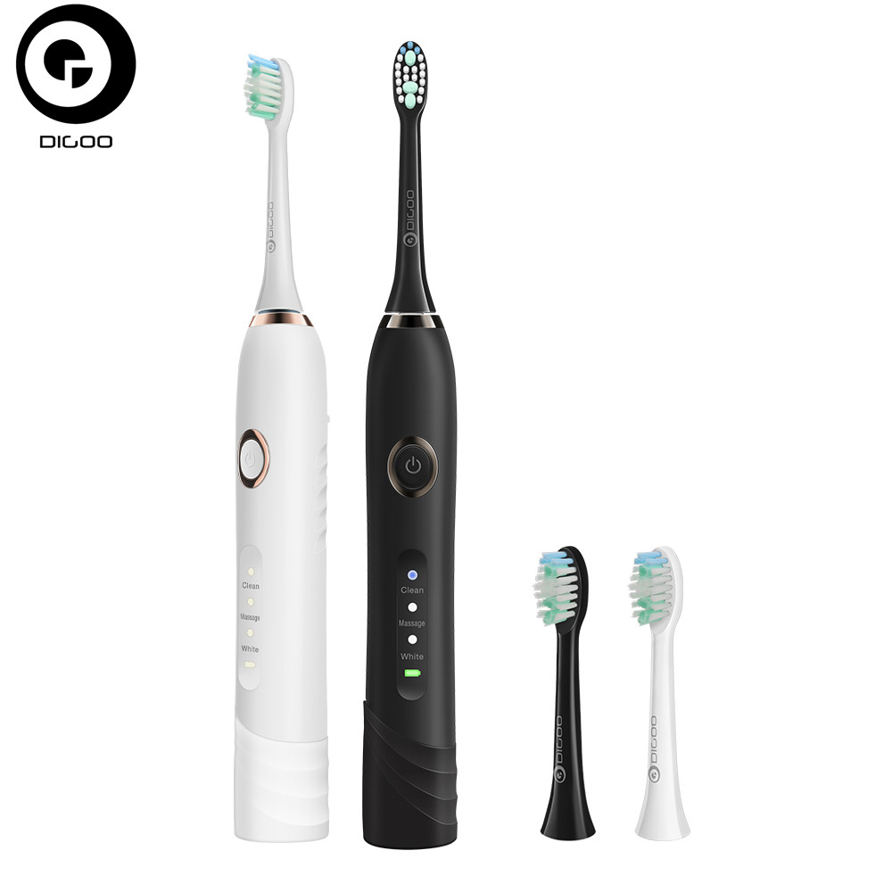 Digoo DG-YS22 3 Brush Modes Essence Electric Toothbrush Direct USB Rechargeable Baby Toothbrushes image